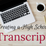 Creating a High School Transcript
