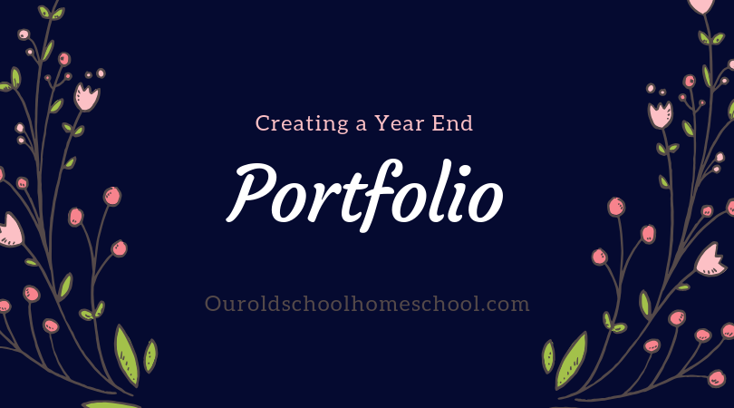 Creating a Year-End Portfolio
