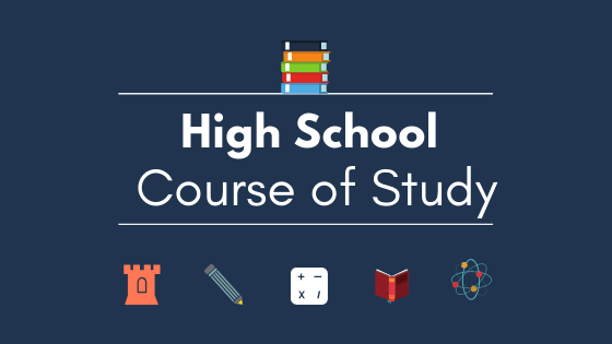 Plan a High School Course of Study